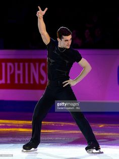 Javier Fernandez of Spain performs during the Gala Exhibition during day five of the ISU European Figure Skating Championships 2016 on January 31, 2016 in Bratislava, Slovakia.
