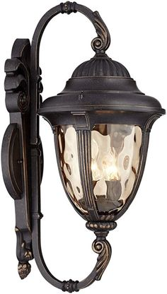 John Timberland Bellagio Carriage Style Outdoor Wall Light with Double Bridge Arms Outdoor Wall Light Fixtures, Outdoor Hanging Lights, Outdoor Post Lights, Outdoor Ceiling Fans, Outdoor Wall Lighting, Exterior Lighting, Outdoor Walls, Led Path Lights, Wall Lights