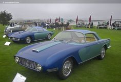 1958 Lancia Aprilia Nardi Blue Ray 2 was created in by Enrico Nardi. The car debuted at the Turin Motor Show that same year. It is built on a heavily modified Lancia Aurelia B24 4th Series chassis. The coachwork was designed by Michelotti and constructed of steel by Vignale.