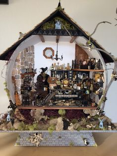 dollhouse miniature halloween