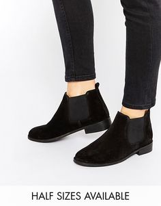$65 ASOS AMERICA Suede Chelsea Ankle Boots