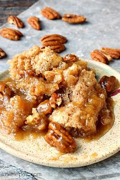 Ingredients:      6 tablespoon butter (no substitutions)   1 cup pecans   1 and ½ cup self-rising flour   1 and ½ cup granulated sugar ...