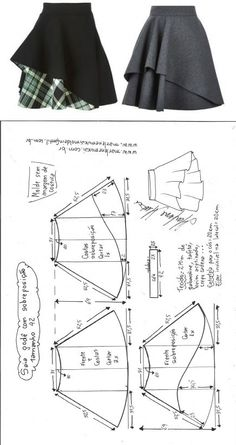 Ideas Knit Skirt Diy Dress Patterns For 2019 Brumby Skirt Ruched Skirt With . - Ideas Knit Skirt Diy Dress Patterns For 2019 Brumby Skirt Ruched Skirt With Deep Pockets. Diy Clothing, Sewing Clothes, Clothing Patterns, Dress Patterns, Sewing Patterns, Circle Skirt Pattern, Knitting Patterns, Fashion Patterns, Sewing Stitches