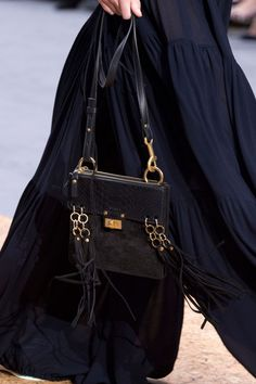 Chloé at Paris Fashion Week Spring 2016 - Details Runway Photos Work Looks, Spring Summer 2016, Chloe, Runway, Shoulder Bag, Style Inspiration, Detail, Paris Fashion, Bandana