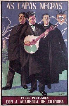 Movie Poster for Capas Negras 1928