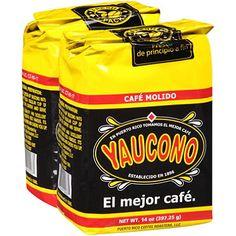 Yaucono / Very good coffee from Puerto Rico.