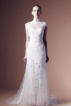 And This Annasul Dress With Cheongsam Collar Is Graceful Classy Disney Wedding DressesChinese