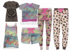 Jungle Book Pyjamas T Shirt Vest Shorts Leggings Lounge Pant Baloo Mowgli