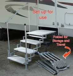 Best Portable Rv Steps Decks And Porches For 5Th Wheels 400 x 300