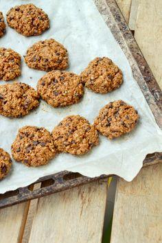 biscotti senza uova e burro con semi di chia e gocce cioccolato