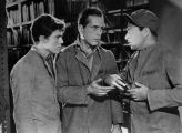 You Can't Get Away with Murder (1939).  The Sing Sing prison library.