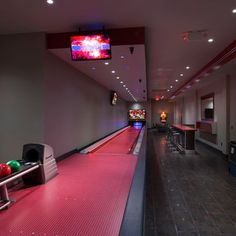 Bowling alley in the basement? Frick yeah!