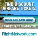 Flightnetwork.com  -Specializes in Cheap Flights . Click the banner to save right now