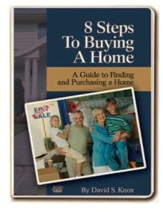 8 Steps To Buying A Home DVD David Knox Real Estate Sales Business Guru