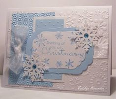 SC363 Lots of Snowflakes by snowmanqueen - Cards and Paper Crafts at Splitcoaststampers