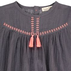 Daisy Linen and Cotton Blouse-product