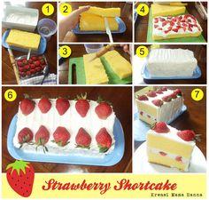 Strawberry Shortcake (step by step)
