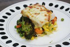 Fotorecept: Diétne pečené filé so zeleninou Garam Masala, Mozzarella, Lasagna, Broccoli, Spaghetti, Eggs, Meat, Chicken, Vegetables