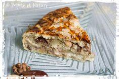 Tourte à étages à l'amande, noix et dattes recette  médiévale ! © Popote et Nature