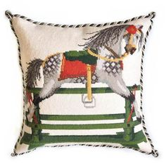Rocking Horse Tapestry Kits, Animal Alphabet, Needlepoint Kits, Horses, Canvas Prints, Stitch, Drawings, Crafts, Collection