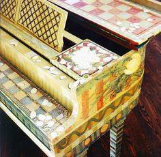 Oh yes! These painted pianos are the best. :)