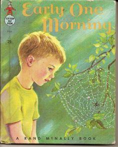 vintage children book Early One Morning ELF by vintagebooklover, $4.85