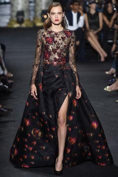 Elie Saab Fall 2016 Couture Fashion Show - Tia Brandsma