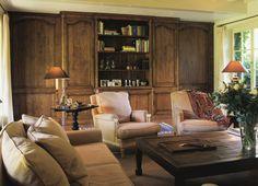Custom made dark stained oak cabinetry - Lefèvre Interiors Belgium
