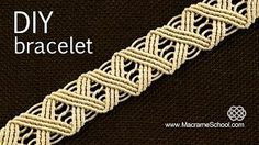 Macrame School - YouTube