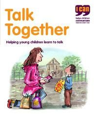 Talk Together is a simple illustrated booklet explaining: The importance of language, the key milestones in a child's speech and language and development, and much much more. Available in multiple languages.   https://shop.ican.org.uk/talktogether