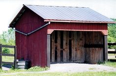things to consider before building/placing your horse run-in shed