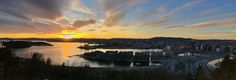 Oslo, Ekeberg Oslo, Norway, River, Celestial, Sunset, Outdoor, Outdoors, Sunsets, Outdoor Games