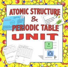 teaching atomic structure to your middle school or 9th 10th grade students this