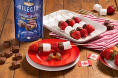 Looking for a delicious appetizer for your Canada Day celebrations? These skewers featuring our Delecto Canadian Classics Milk Caramels are sure to satisfy! Yummy Recipes, Yummy Food, Candy Companies, Caramels, Canada Day, Yummy Appetizers, Skewers, Family Pictures, Celebrations