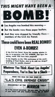 'This might have been a bomb!', 1951