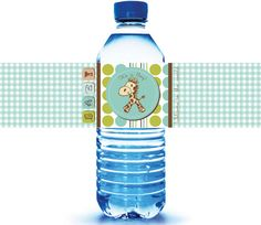 200  Baby Shower Water Bottle Labels  Baby Shower by iCustomWater