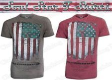 1e7c8bce930 Men s boy s new stylish Soul Star Distorted American Flag Printed T shirts  available in two eye