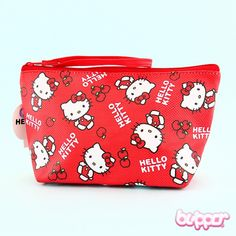 Faux Leather Tobacco Pouch Hello Kitty