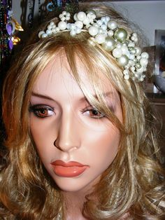 Pearl Beaded Hairband