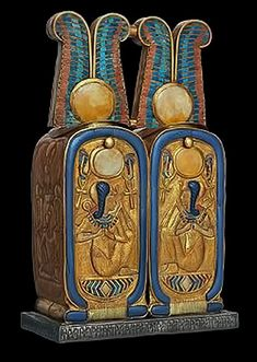 double-cartouche-from-tomb-of-Tutankhamun-