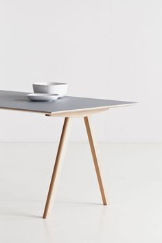 Scandinavian design desk / oak / by Ronan & Erwan Bouroullec - COPENHAGUE : CPH10 - Hay a/s