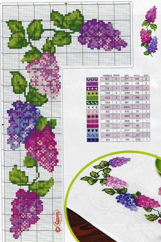 ru / Photo # 2 - ***** - celita - My site Cross Stitch Borders, Cross Stitch Rose, Cross Stitch Flowers, Cross Stitch Charts, Cross Stitch Designs, Cross Stitching, Cross Stitch Embroidery, Cross Stitch Patterns, Loom Patterns