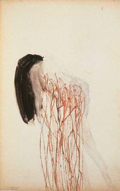 Berlinde de Bruyckere, women artist, Belgian art, hair, melancholia