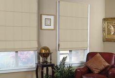 Premium Plus Light Filtering Roman - Custom blinds, shades, shutters and draperies By SelectBlindsCanada.ca