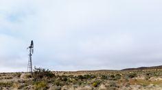 Windpomp In The Karoo - Fraserburg Landscape  Windpomp In The Karoo - Fraserburg…