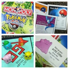 Pokemon Monopoly!