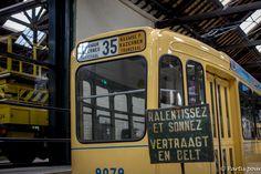 Musée du tram, Bruxelles, Belgique. Bilan vie nomade Tramway, Beagle, Instagram Posts, Travel, Vintage, Life, Balance Sheet, Viajes, Beagle Hound
