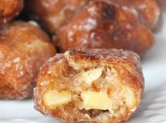 Yum... I'd Pinch That! | Homemade Apple Fritters Recipe