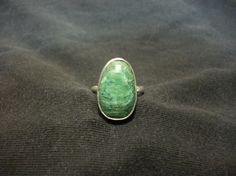 Budstone and Sterling Silver Ring