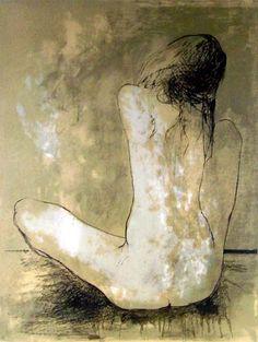 """JEAN JANSEM  (B. 1920), French-Armenian - Hovhannes """"Jean"""" Semerdjian (1920-2013), also known as Jean Jansem, was an French-Armenian painter."""